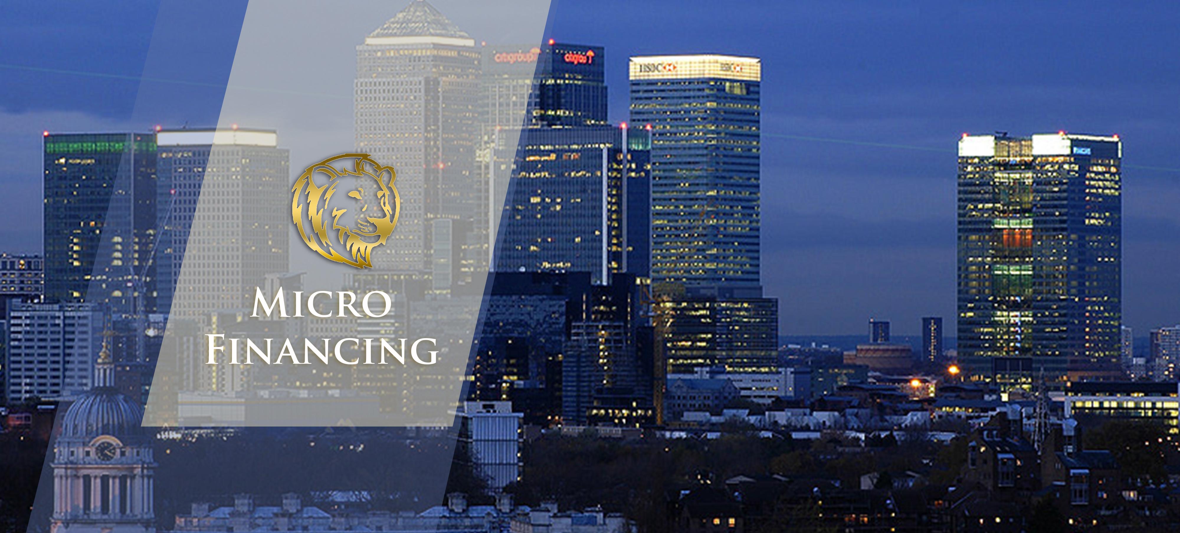 mircorfinancing slide