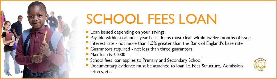 school fees loan banner